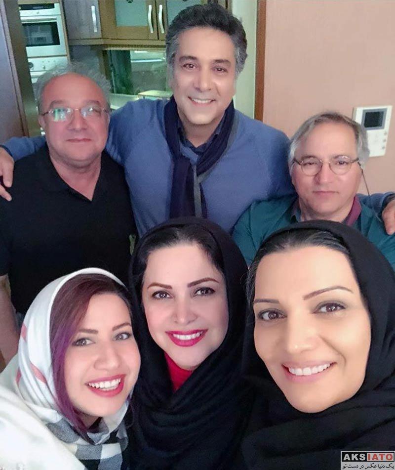 بازیگران بازیگران زن ایرانی  عکس های کمند امیرسلیمانی در بهمن ماه ۹۶ (۸ تصویر)