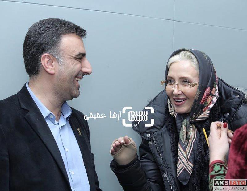 بازیگران جشنواره فیلم فجر  کتایون ریاحی در روز 36مین جشنواره فیلم فجر (3 عکس)