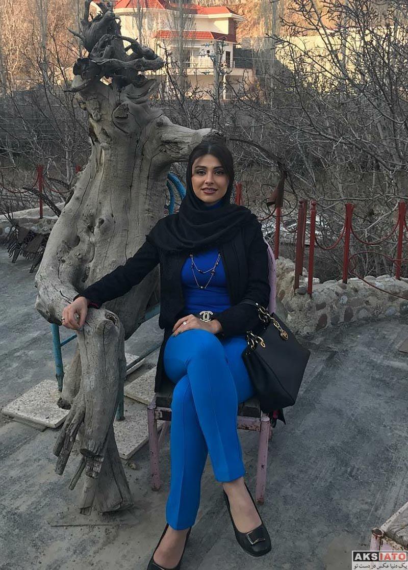 بازیگران بازیگران زن ایرانی  عکس های لاله مرزبان در بهمن ماه ۹۶ (10 تصویر)