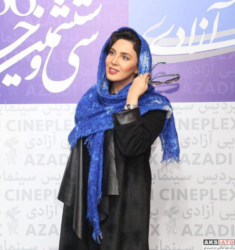 بازیگران جشنواره فیلم فجر  لیلا بلوکات در هشتمین روز جشنواره فیلم فجر ۳۶ (۳ عکس)