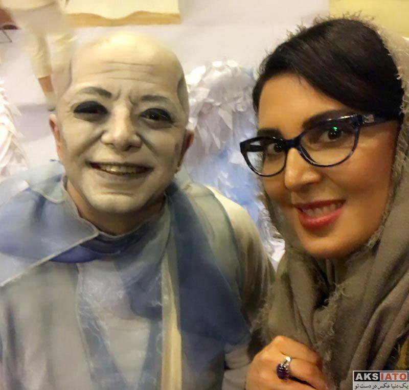 بازیگران بازیگران زن ایرانی  لیلا بلوکات در اجرای نمایش ماکوندو (2 عکس)