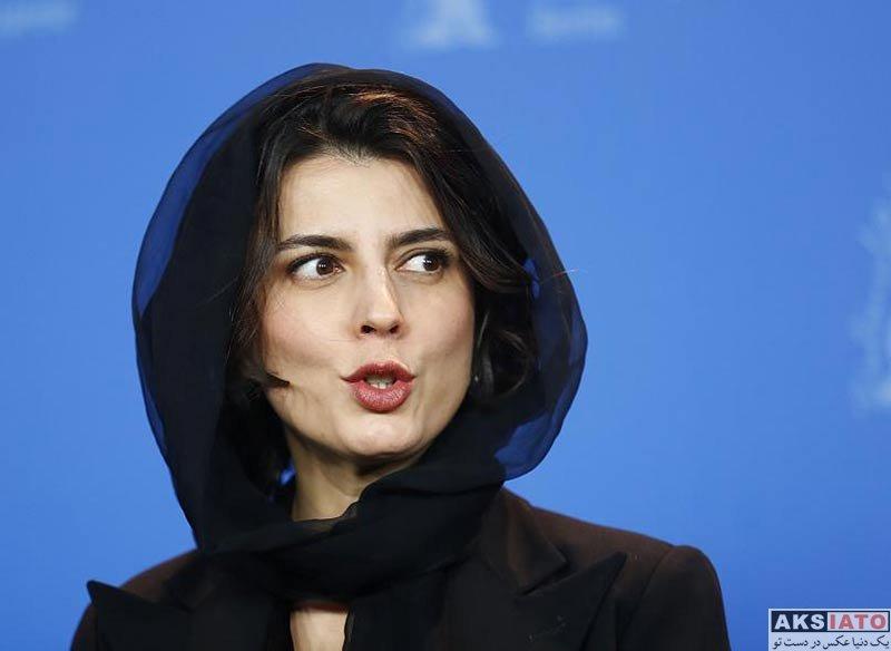 بازیگران بازیگران زن ایرانی  لیلا حاتمی در مراسم فوتوکال فیلم خوک در جشنواره برلین (7 عکس)