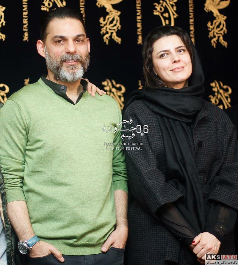 بازیگران جشنواره فیلم فجر  لیلا حاتمی در نشست خبری فیلم بمب، یک عاشقانه (10 عکس)