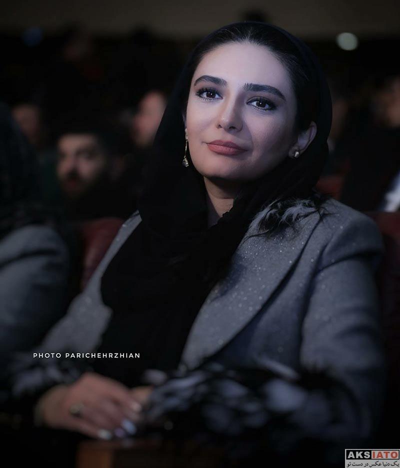 بازیگران جشنواره فیلم فجر  لیندا کیانی در اختتامیه سی و ششمین جشنواره فیلم فجر (9 عکس)