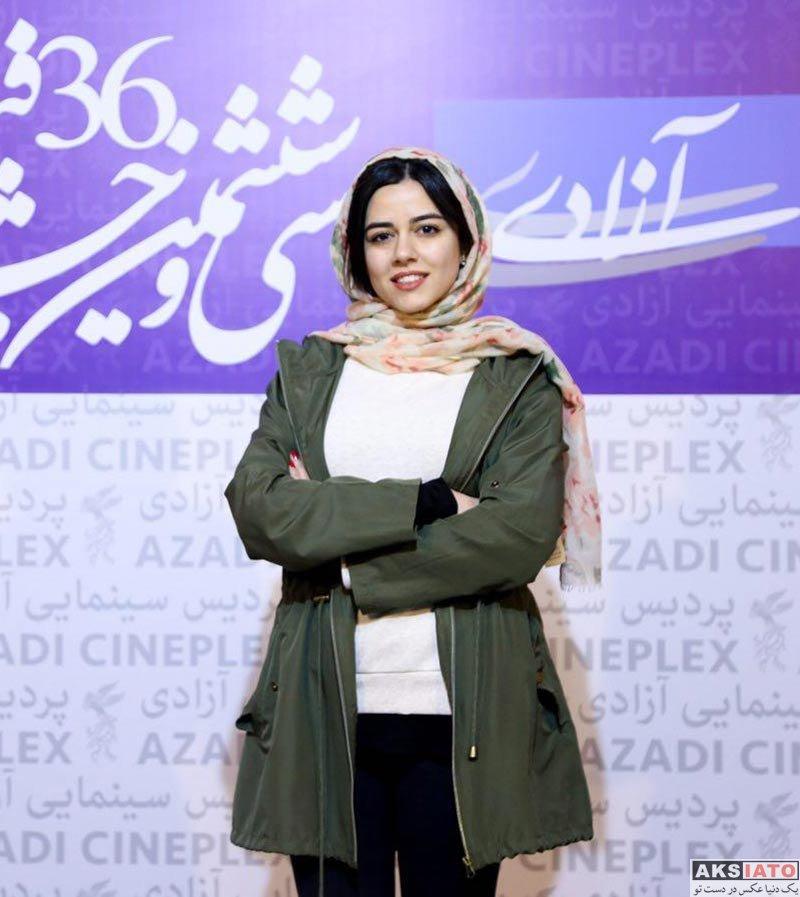 بازیگران جشنواره فیلم فجر  ماهور الوند در هشتمین روز جشنواره فیلم فجر ۳۶ (3 عکس)