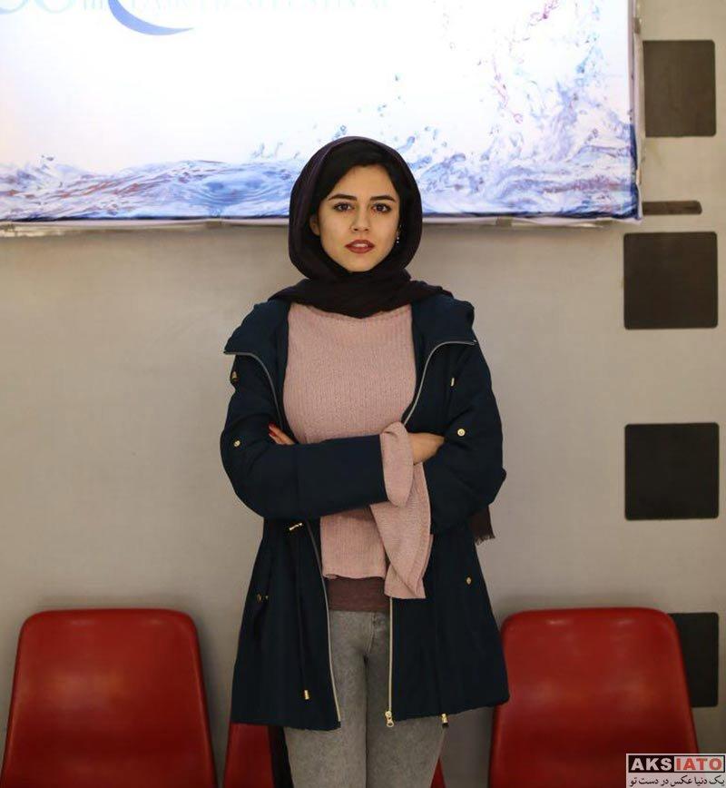 بازیگران جشنواره فیلم فجر  ماهور الوند در روز ششم 36مین جشنواره فیلم فجر (3 عکس)