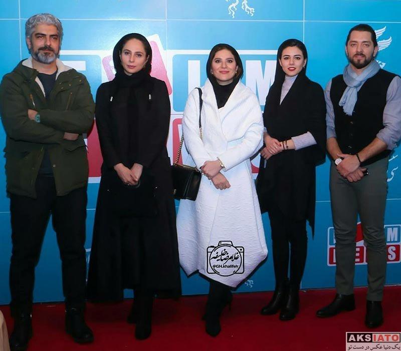 بازیگران جشنواره فیلم فجر  ماهور الوند در اکران و نشست خبری فیلم چهارراه استانبول (۸ عکس)