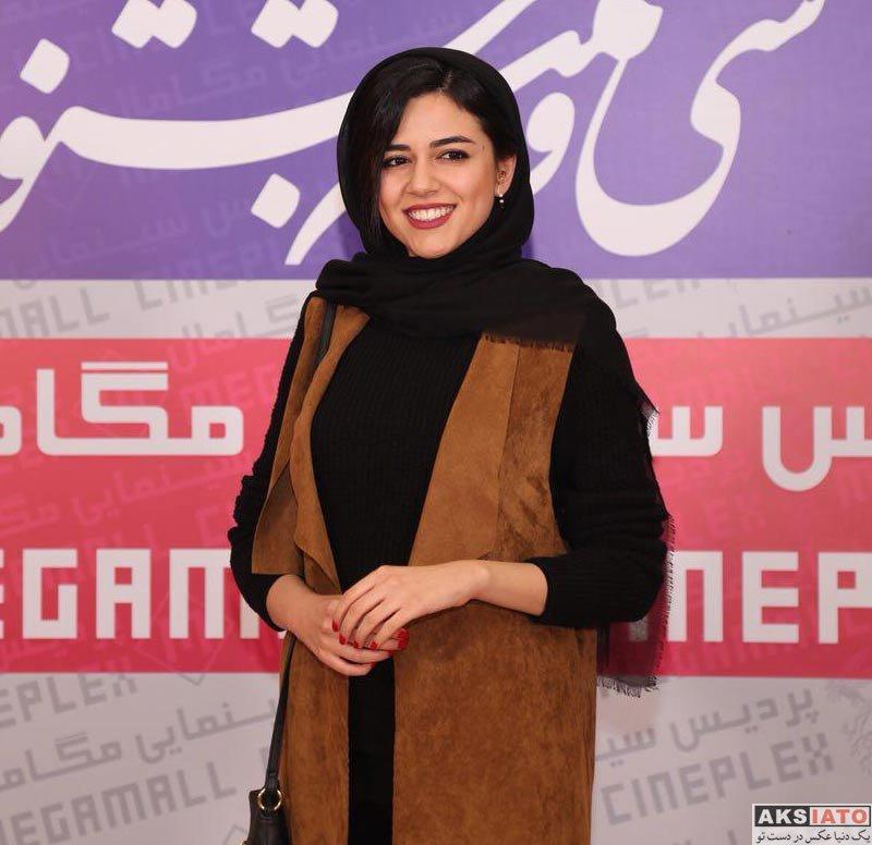 بازیگران بازیگران زن ایرانی  ماهور الوند در روز دوم سی و ششمین جشنواره فیلم فجر (3 عکس)