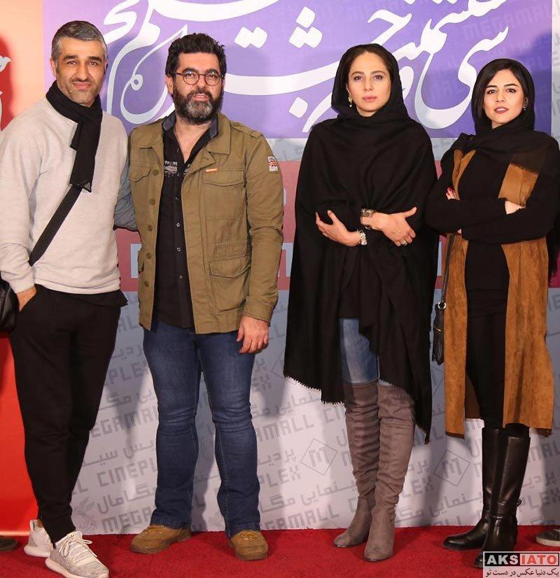 بازیگران بازیگران زن ایرانی  ماهور الوند در روز دوم سی و ششمین جشنواره فیلم فجر (5 عکس)