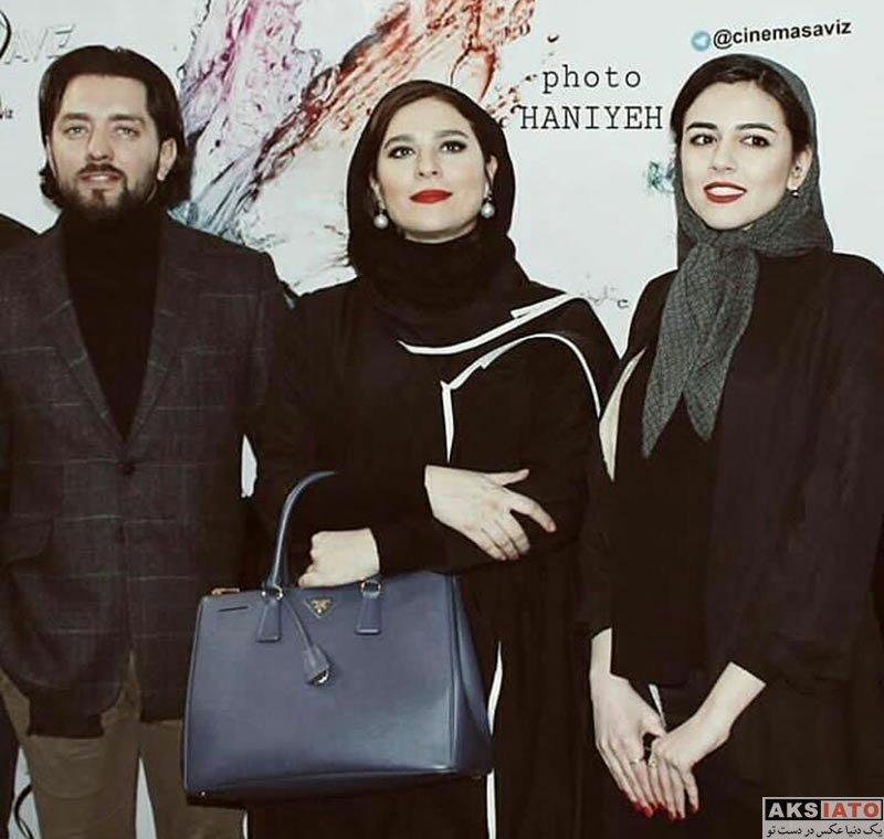 بازیگران جشنواره فیلم فجر  ماهور الوند در افتتاحیه جشنواره فیلم فجر 36 در کرج (3 عکس)
