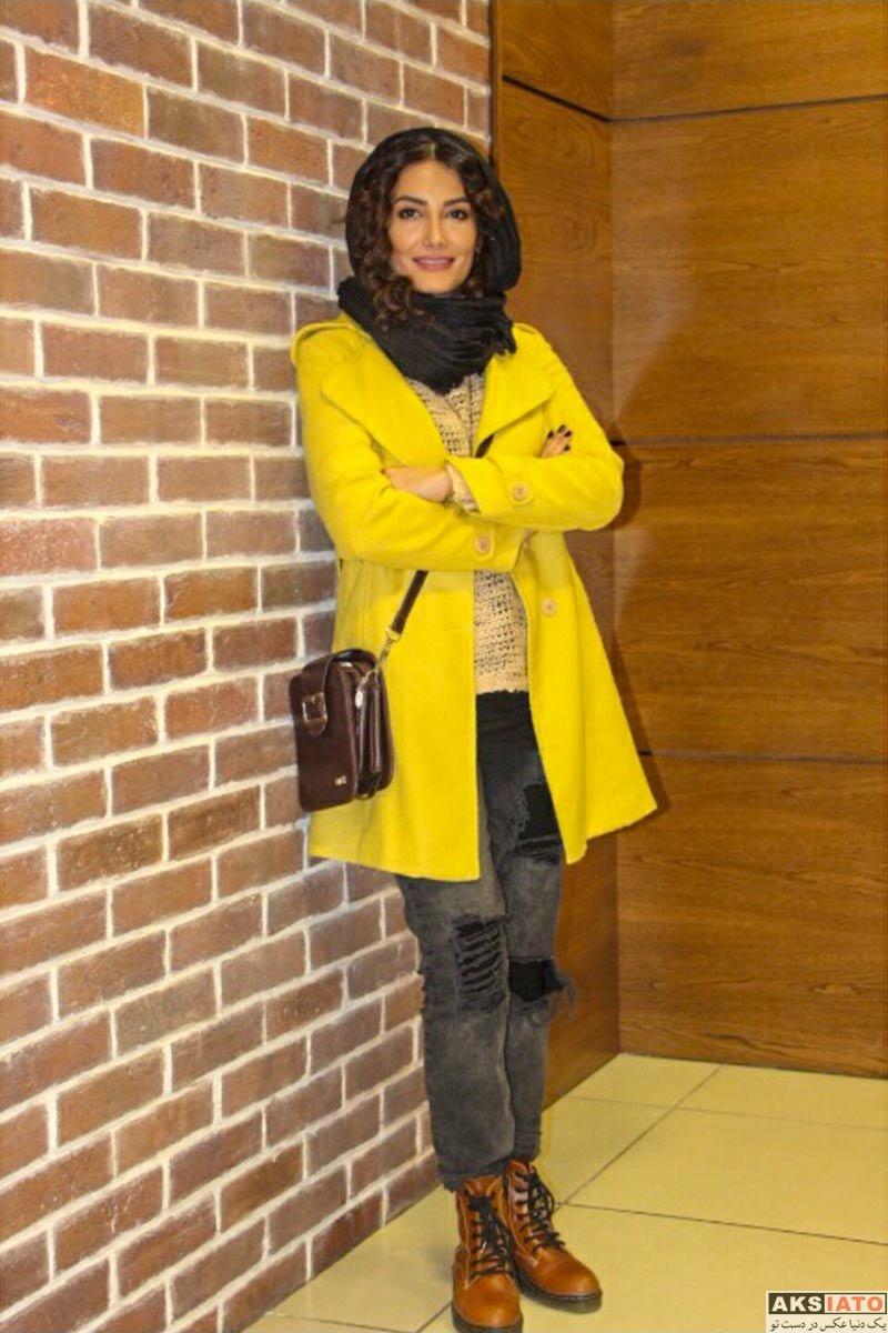 بازیگران جشنواره فیلم فجر  مهسا باقری در روز نهم جشنواره فیلم فجر ۳۶ (3 عکس)