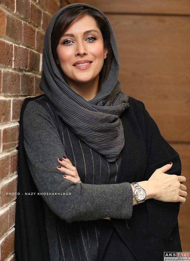 بازیگران بازیگران زن ایرانی  مهتاب کرامتی در اکران مردمی فیلم اسرافیل (4 عکس)