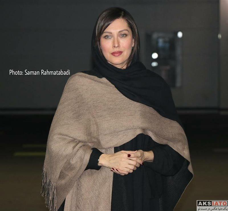 بازیگران جشنواره فیلم فجر  مهتاب کرامتی در پنجمین روز 36مین جشنواره فیلم فجر (6 عکس)