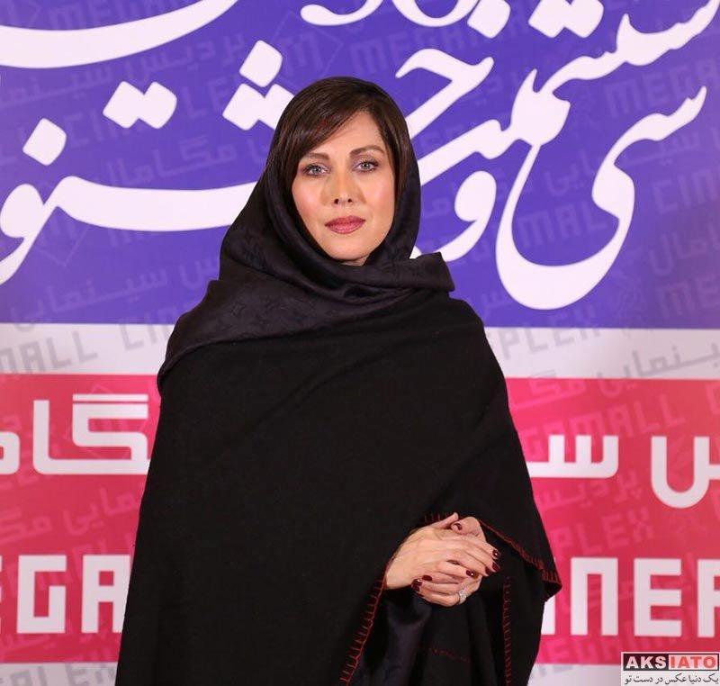 بازیگران جشنواره فیلم فجر  مهتاب کرامتی در اکران فیلم جاده قدیم در جشنواره فجر (5 عکس)