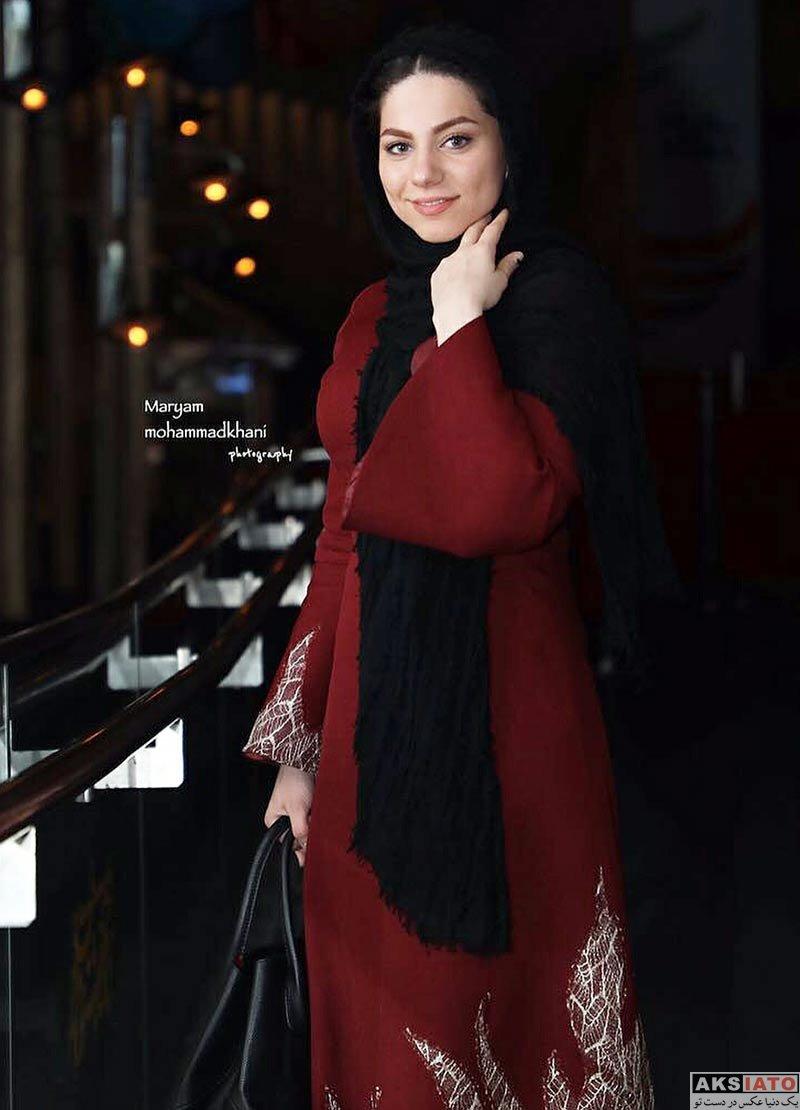 بازیگران جشنواره فیلم فجر  محیا اسناوندی در سی و ششمین جشنواره فیلم فجر (3 عکس)