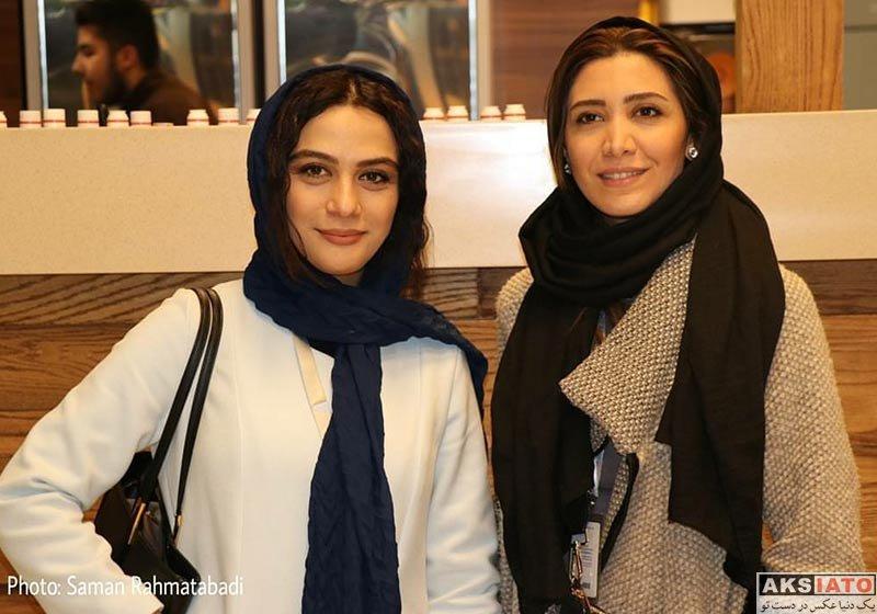 بازیگران جشنواره فیلم فجر  مارال فرجاد در ششمین روز جشنواره فیلم فجر ۳۶ (4 عکس)