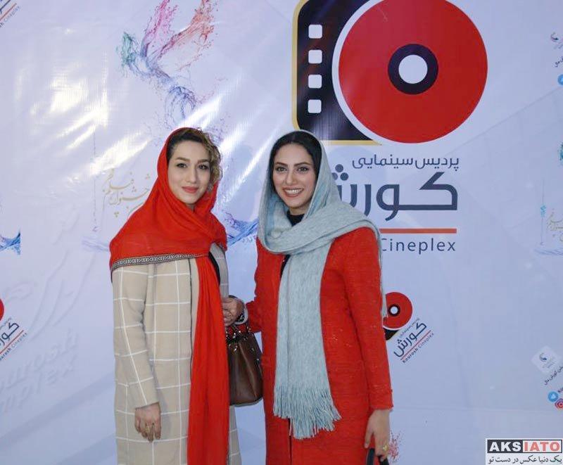 بازیگران جشنواره فیلم فجر  مارال فرجاد در اکران فیلم ماهورا در جشنواره فیلم فجر (4 عکس)