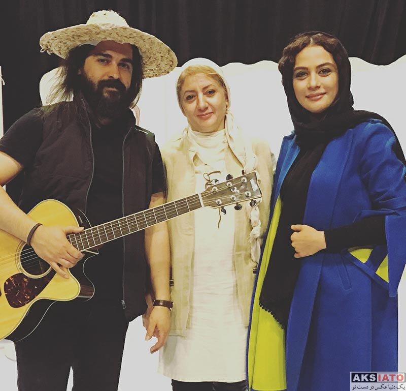 بازیگران بازیگران زن ایرانی  مارال فرجاد در اجرای نمایش ماکوند (2 عکس)