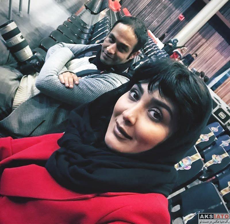 بازیگران بازیگران زن ایرانی  عکس های مریم معصومی در بهمن ماه ۹۶ (10 تصویر)