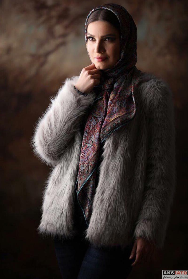 بازیگران بازیگران زن ایرانی  عکس های متین ستوده در بهمن ماه ۹۶ (8 تصویر)