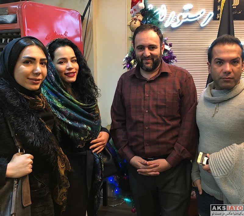 بازیگران بازیگران زن ایرانی  عکس های ملیکا شریفی نیا در بهمن ماه ۹۶ (5 تصویر)