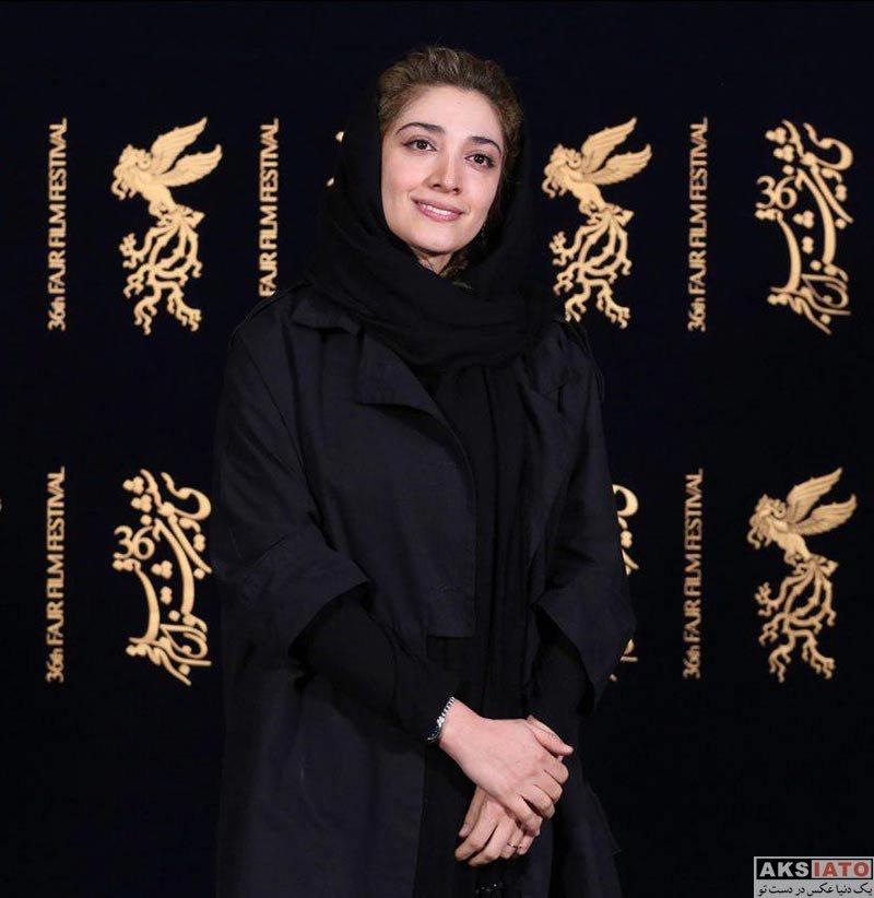 بازیگران جشنواره فیلم فجر  مینا ساداتی در روز ششم جشنواره فیلم فجر ۳۶ (10 عکس)