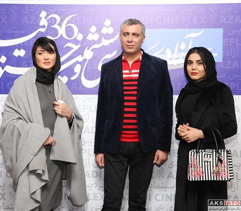 بازیگران جشنواره فیلم فجر  مینا وحید در اکران مردمی فیلم هایلایت در جشنواره فیلم فجر (6 عکس)