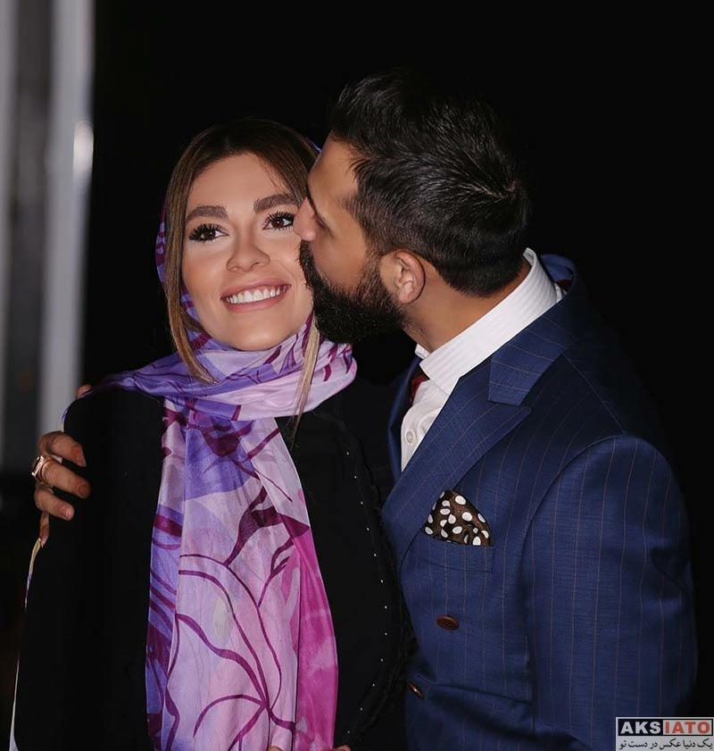 بازیگران عکس های محسن افشانی و همسرش در بهمن ماه 96 (8 تصویر)
