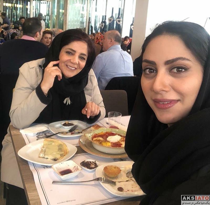 بازیگران بازیگران زن ایرانی  عکس های مونا فرجاد در بهمن ماه ۹۶ (6 تصویر)