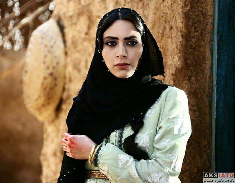 بازیگران بازیگران زن ایرانی  مونا فرجاد با تیپ متفاوت در فیلم سینمایی ماهورا (3 عکس)