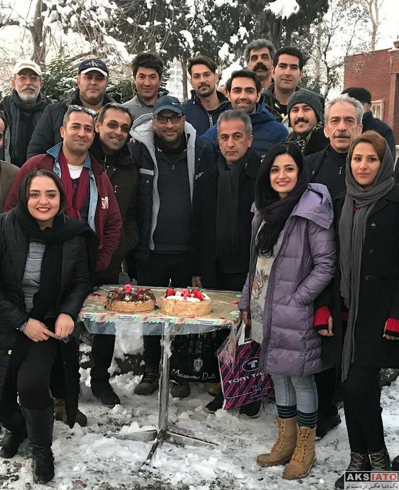 بازیگران بازیگران زن ایرانی  عکس های نرگس محمدی در بهمن ماه ۹۶ (۸ تصویر)