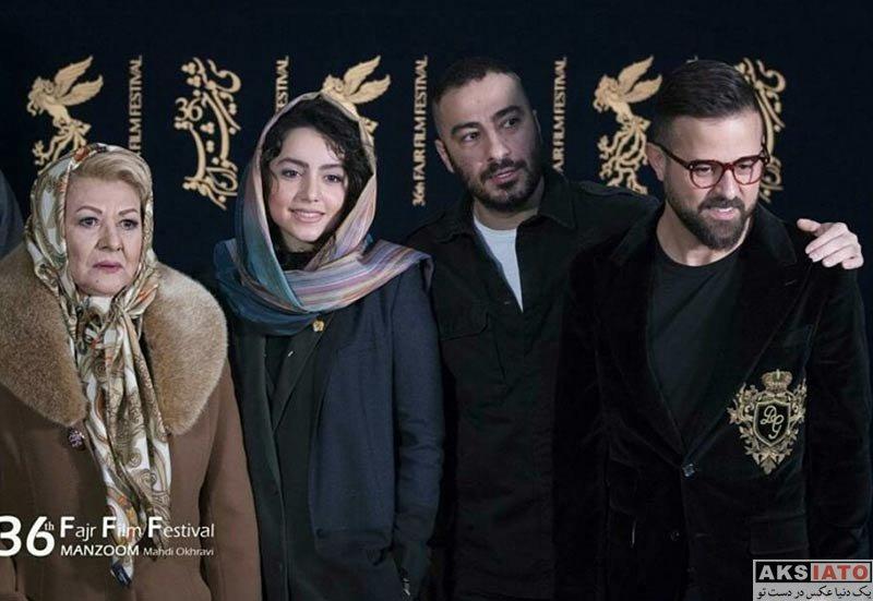 بازیگران جشنواره فیلم فجر  نازنین بیاتی در روز پنجم جشنواره فیلم فجر ۳۶ (8 عکس)
