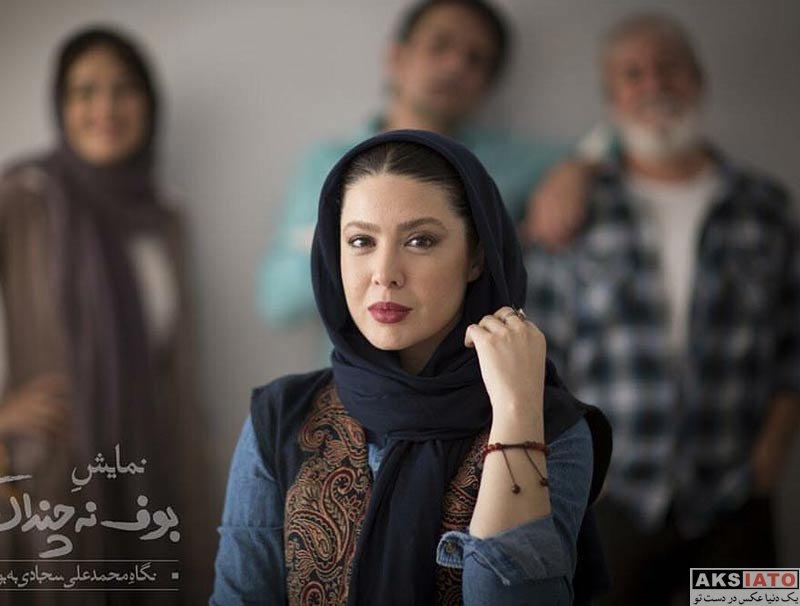 بازیگران بازیگران زن ایرانی  نازنین کریمی بازیگر نقش مژگان در سریال هست و نیست (8 عکس)
