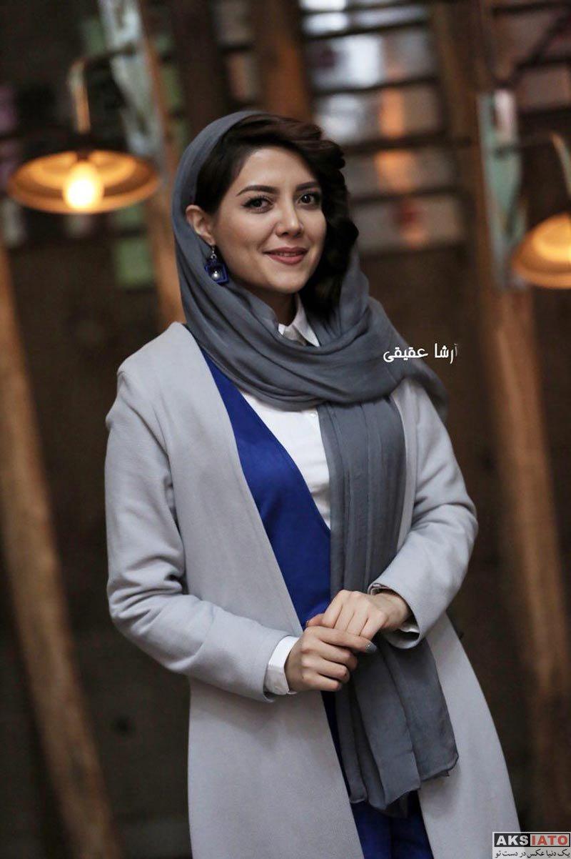 بازیگران جشنواره فیلم فجر  ندا عقیقی در روز هفتم جشنواره فیلم فجر ۳۶ (۸ عکس)