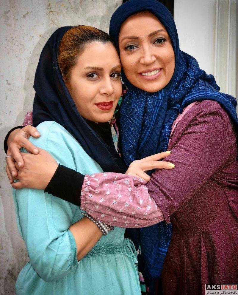 بازیگران بازیگران زن ایرانی عکس های نگار عابدی بازیگر سریال هست و نیست در بهمن ماه 96