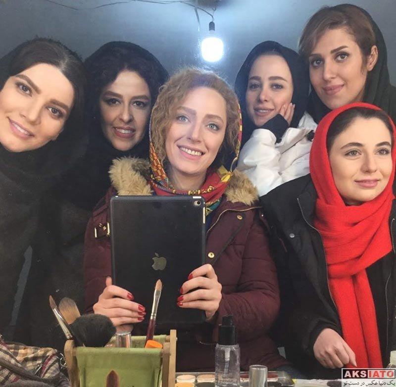 بازیگران بازیگران زن ایرانی  عکس های نگین معتضدی در بهمن ماه ۹۶ (۶ تصویر)