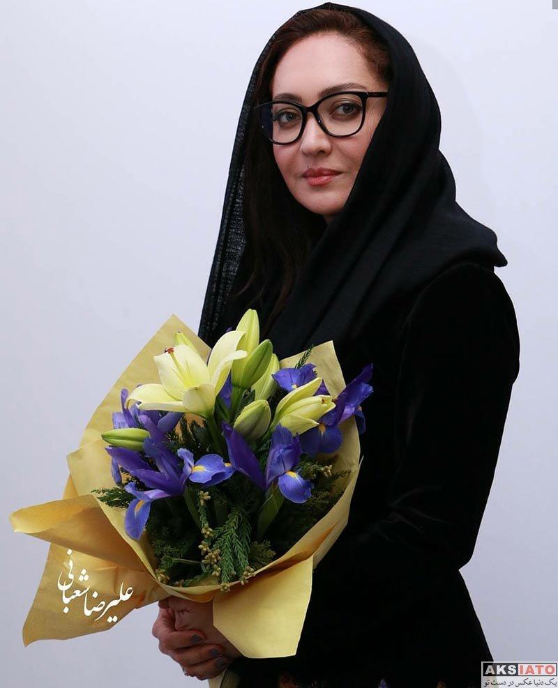 بازیگران بازیگران زن ایرانی نیکی کریمی در افتتاحیه سومین نمایشگاه عکس هایش (8 عکس)