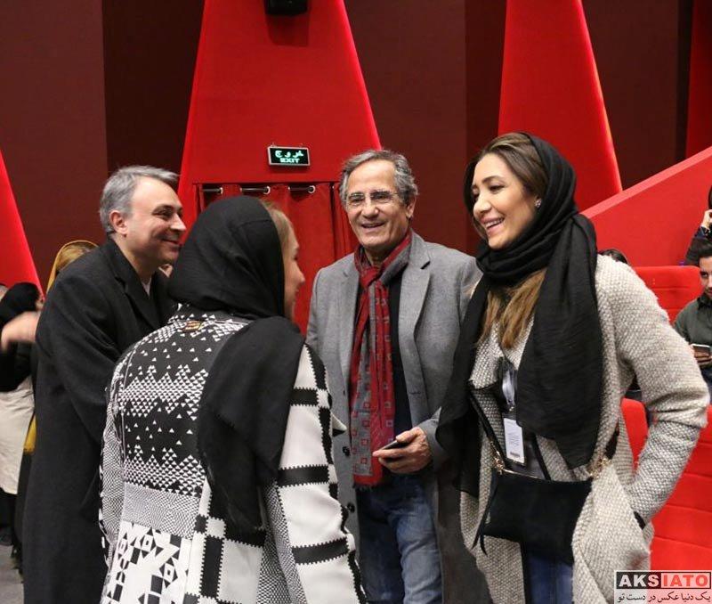 بازیگران جشنواره فیلم فجر  نیکی مظفری در هفتمین روز جشنواره فیلم فجر ۳۶ (4 عکس)