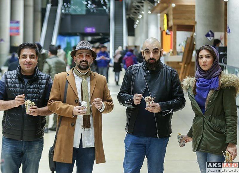 بازیگران جشنواره فیلم فجر  نیکی مظفری در سی و ششمین جشنواره فیلم فجر (4 عکس)