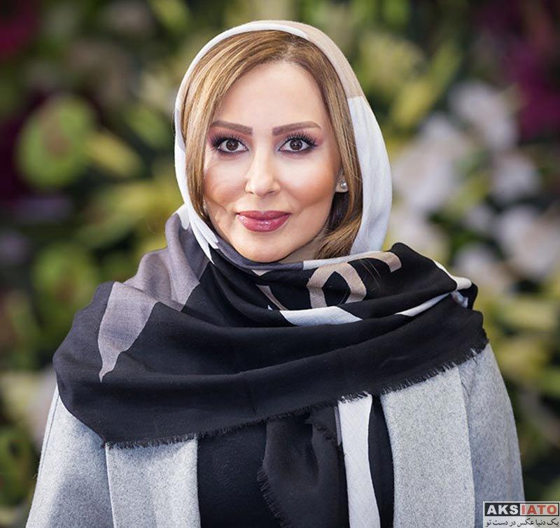 بازیگران بازیگران زن ایرانی  پرستو صالحی در افتتاح گالری نقره آرش (3 عکس)