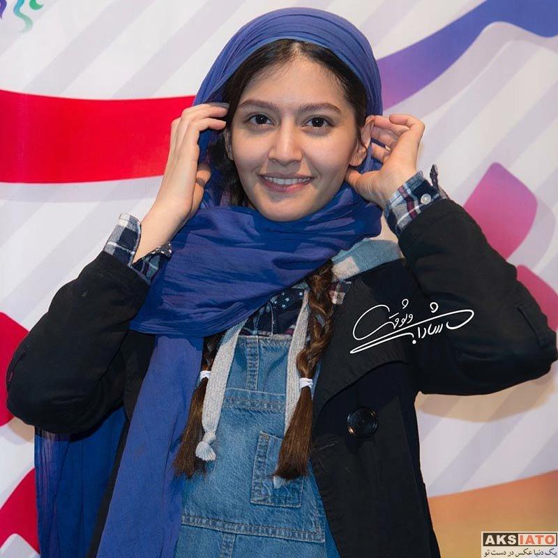 بازیگران جشنواره فیلم فجر  پردیس احمدیه در سی و ششمین جشنواره فیلم فجر (2 عکس)