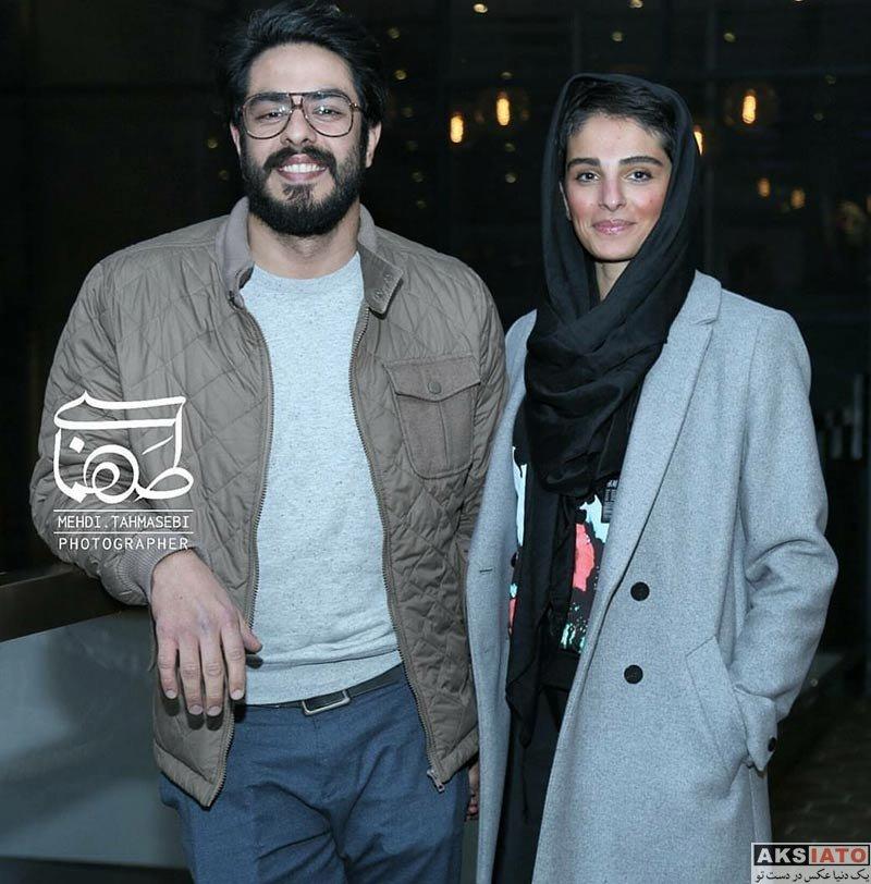 خانوادگی  پوریا شکیبایی و همسرش در اکران ویژه فیلم کمدی انسانی (2 عکس)