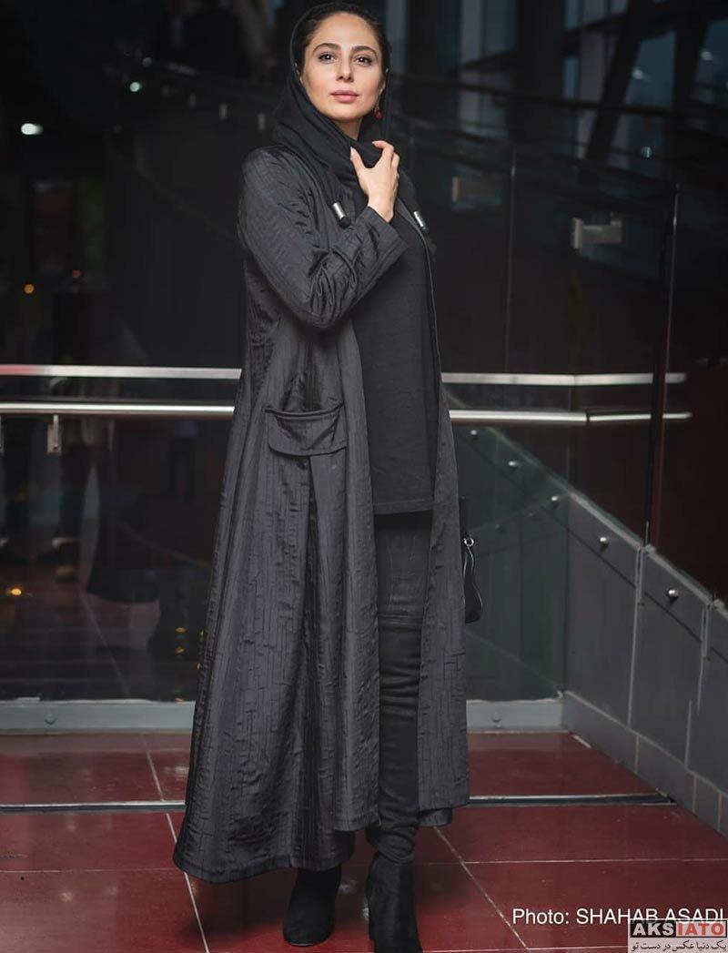 بازیگران جشنواره فیلم فجر  رعنا آزادی ور در اکران و نشست خبری فیلم چهارراه استانبول (8 عکس)