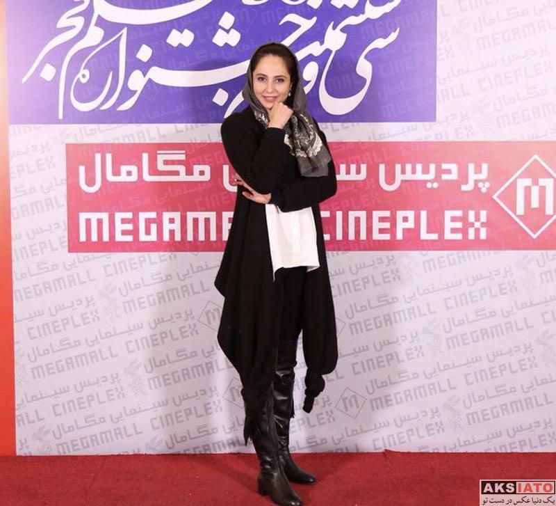 بازیگران جشنواره فیلم فجر  رعنا آزادی ور در روز ششم ۳۶مین جشنواره فیلم فجر (5 عکس)