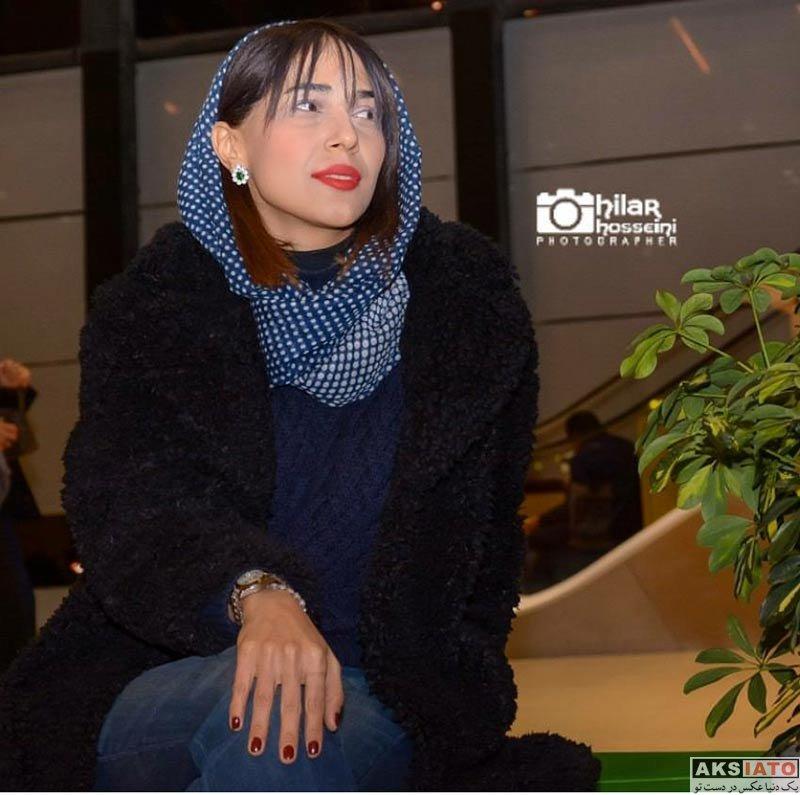 بازیگران جشنواره فیلم فجر  سحر عبدالهی در سی و ششمین جشنواره فیلم فجر (3 عکس)