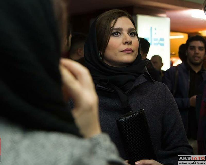 بازیگران جشنواره فیلم فجر  سحر دولتشاهی در اکران فیلم چهارراه استانبول در جشنواره فجر (5 عکس)