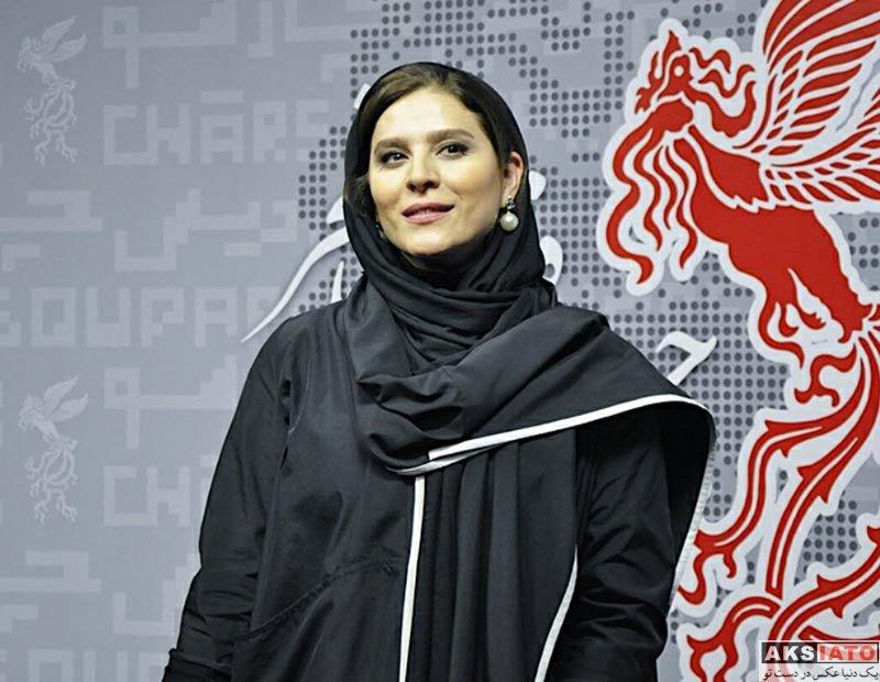 بازیگران جشنواره فیلم فجر  سحر دولتشاهی در روز سوم جشنواره فیلم فجر 36 (6 عکس)