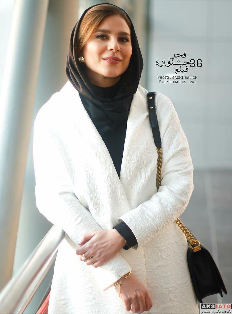 بازیگران جشنواره فیلم فجر  سحر دولتشاهی در اکران و نشست خبری فیلم چهارراه استانبول (10 عکس)