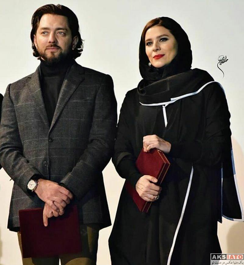 بازیگران جشنواره فیلم فجر  سحر دولتشاهی در افتتاحیه جشنواره فیلم فجر ۳۶ در کرج (4 عکس)