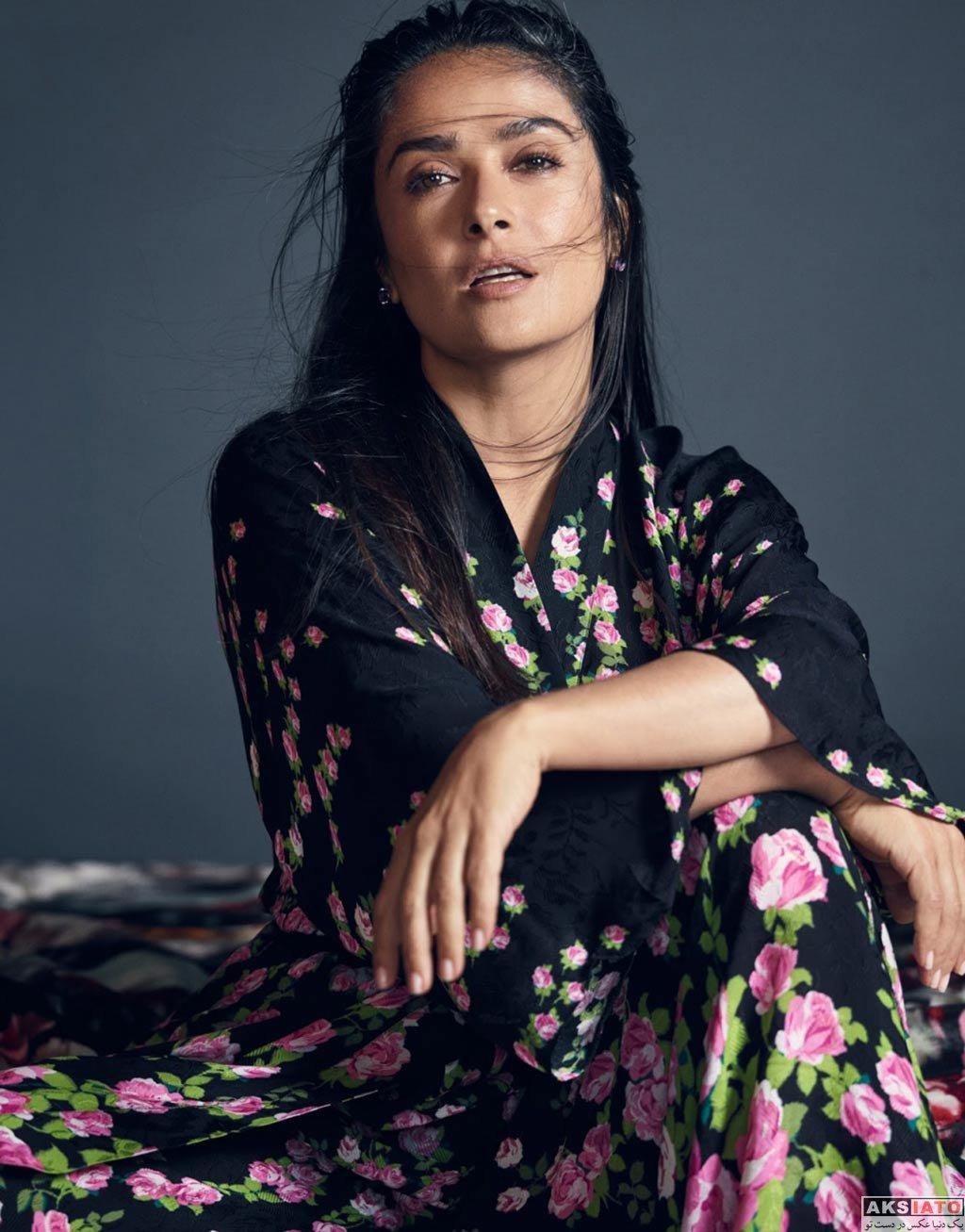بازیگران بازیگران زن خارجی  عکس و والپیپرهای سلما هایک – Salma Hayek
